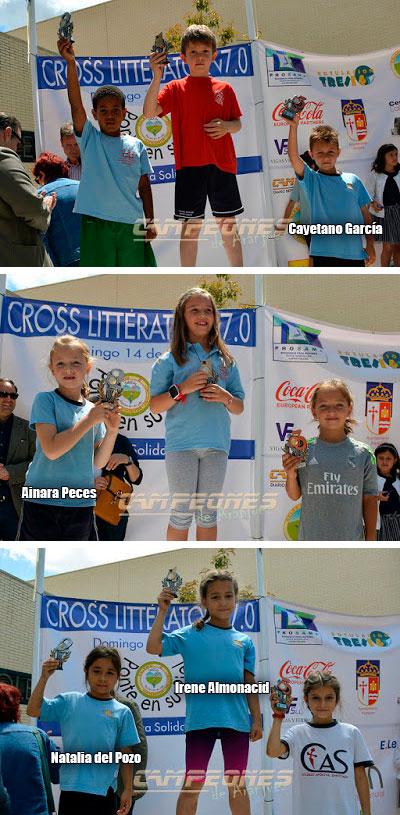 hemos participado en el cross de litterator colegio